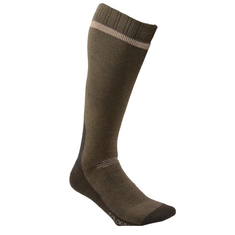 500 Warm Long Socks - Green