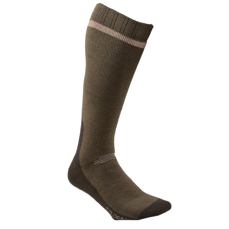 PONOŽKY A PŘÍSLUŠENSTVÍ K VYSOKÉ OBUVI Myslivost a lovectví - LOVECKÉ PODKOLENKY 500  SOLOGNAC - Myslivecká obuv a ponožky