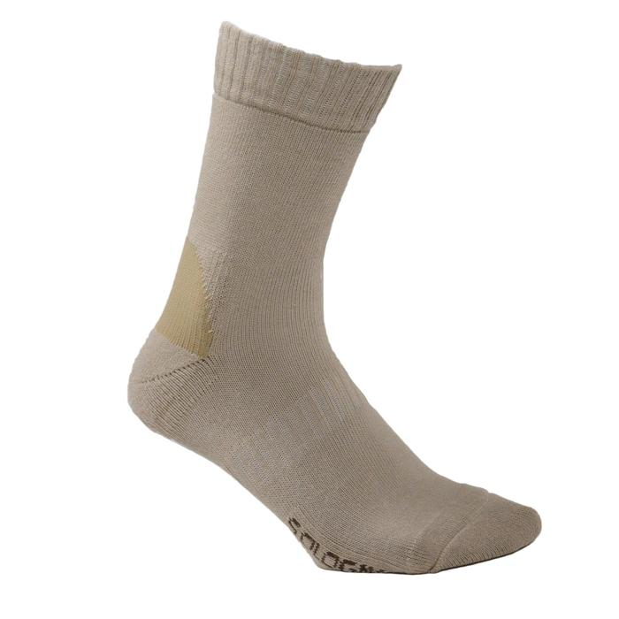 Chaussette chasse S100 beige - 140022