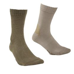Calcetines Caza Solognac S100 Beige