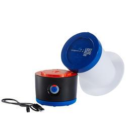 Lamp voor kamperen / trekking BL 200 lumen herlaadbaar blauw - 140106