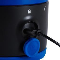 Lamp voor kamperen / trekking BL 200 lumen herlaadbaar blauw - 140109