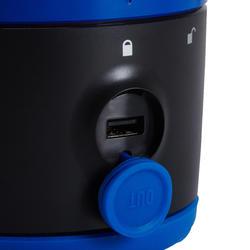 Lamp voor kamperen / trekking BL 200 lumen herlaadbaar blauw - 140111