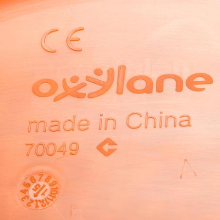 D90 طبق طائر -لون برتقالي غامق