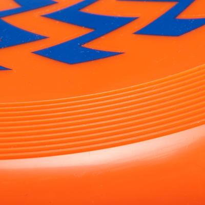 Фрізбі D90 - Помаранчевий із зиґзаґами