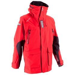 Chaqueta Ozean 900 Hombre impermeable y transpirable Rojo