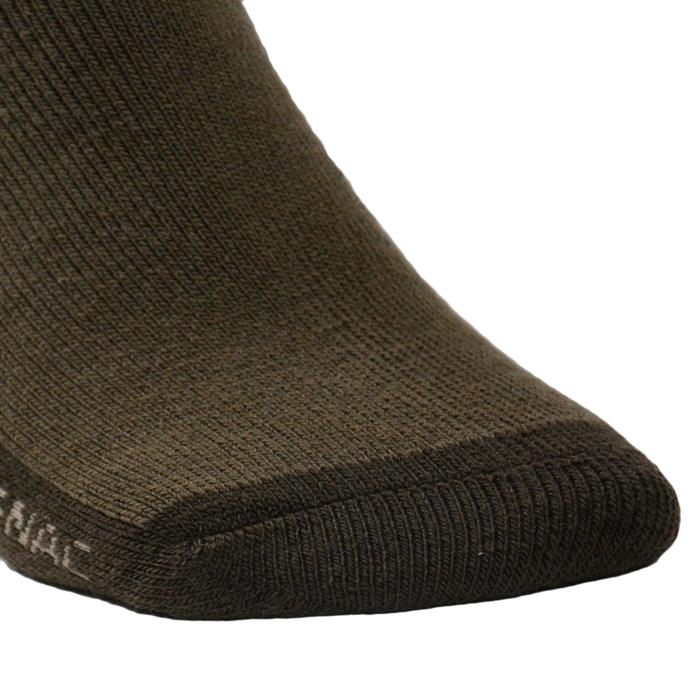 Chaussette chasse Winter MIDDLE sanglier marron - 140257