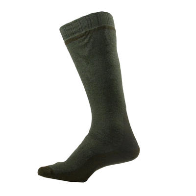 Chaussette chasse Winter high x 2 marron