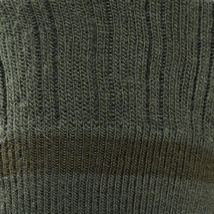 Warme sokken mid voor jagen in de winter 2 paar bruin