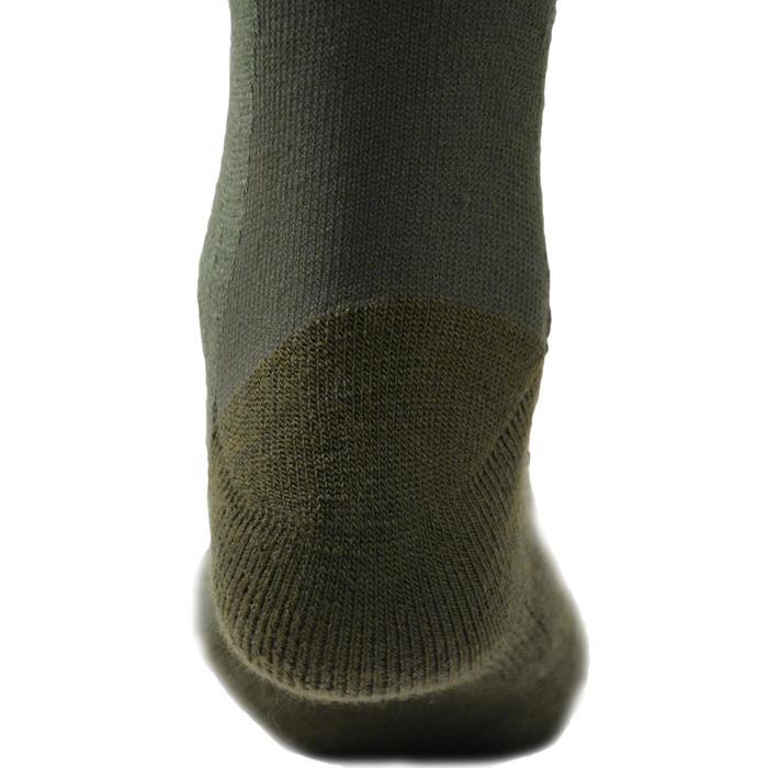 Chaussette chasse chaude Winter middle x2 marron - 140299