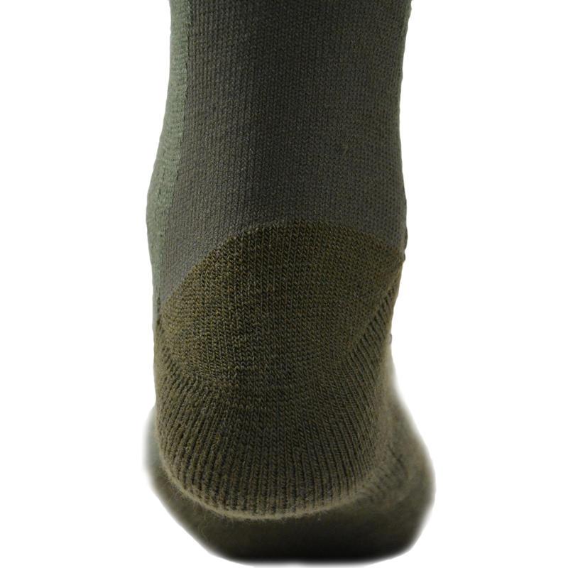 Winter mid warm hunting socks x2 brown
