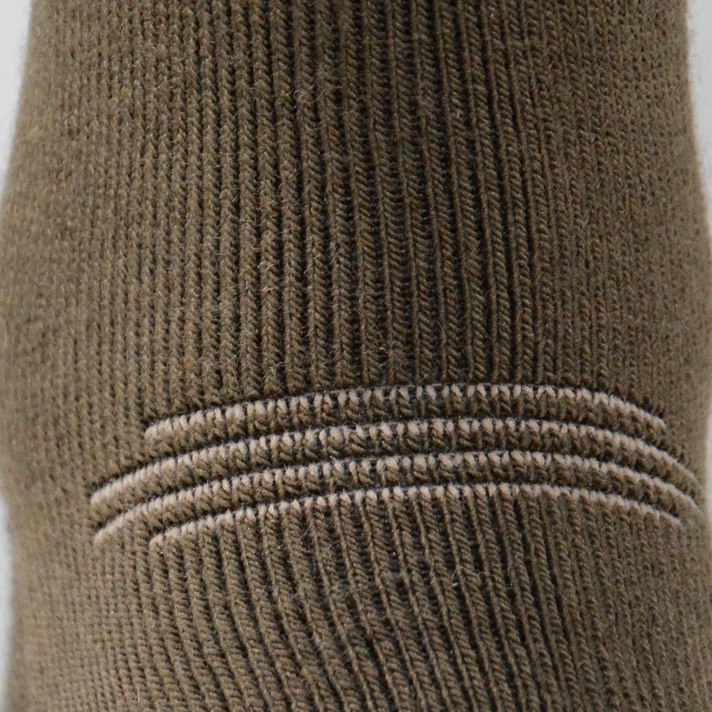 Winter mid warm hunting socks x2 brown