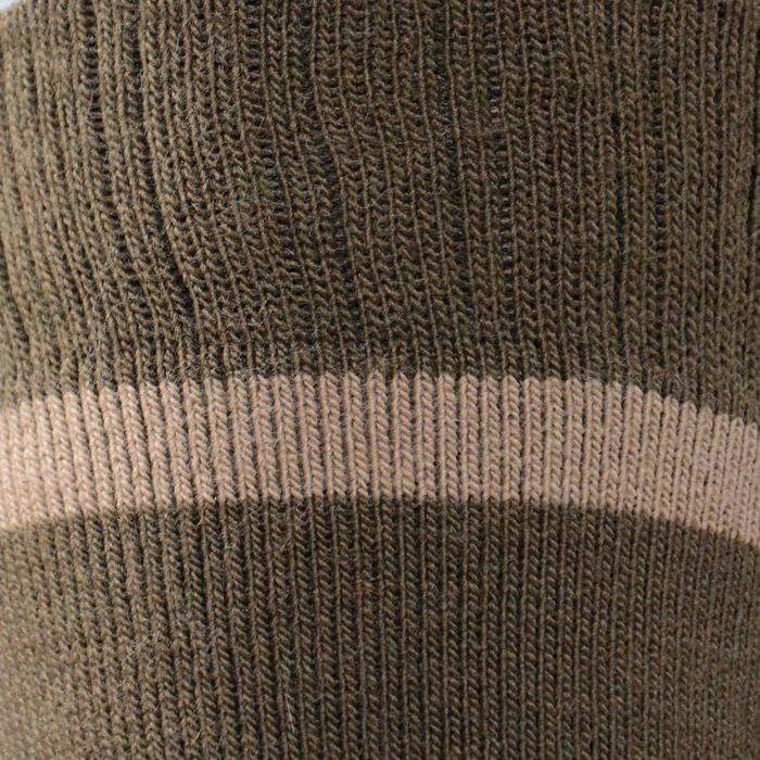 Chaussette chasse chaude Winter middle x2 marron - 140304