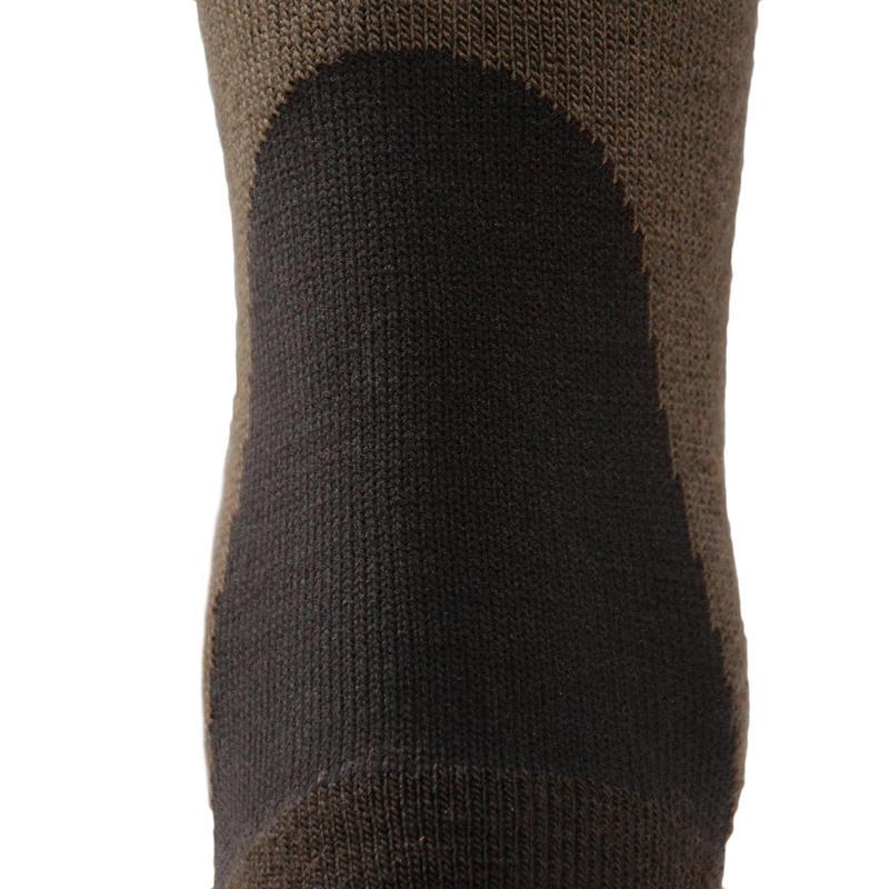 Chaussette chasse chaude Winter middle x2 marron