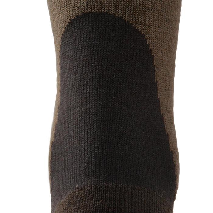 Chaussette chasse chaude Winter middle x2 marron - 140305