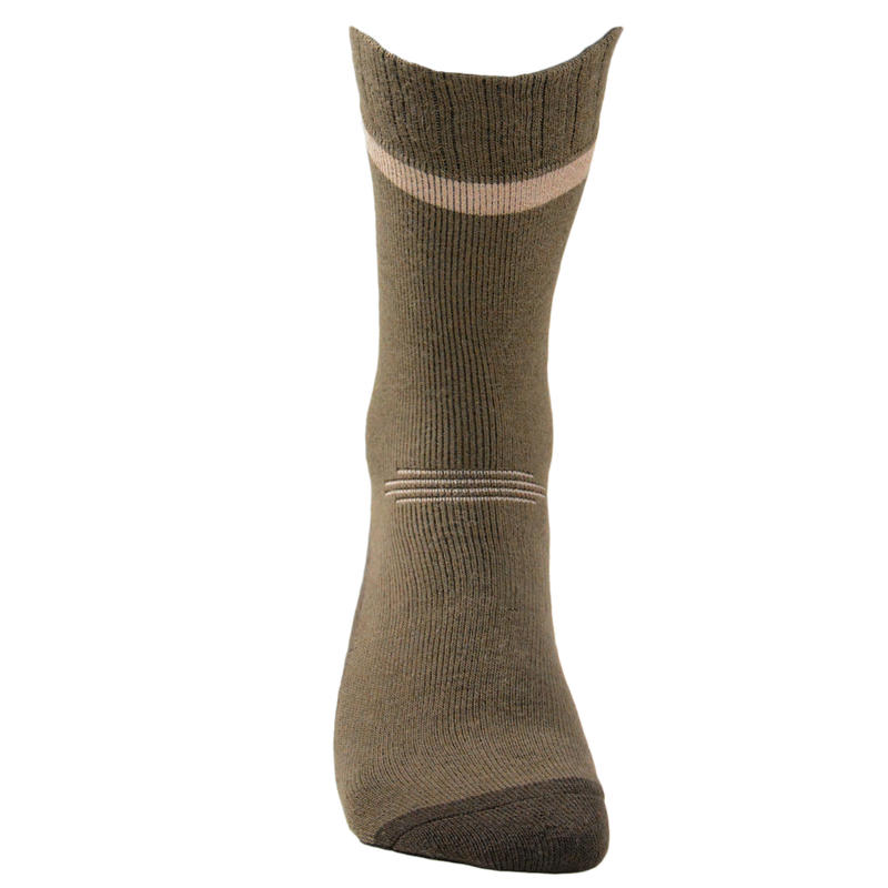 Chaussette chasse chaude Winter middle x2 marron