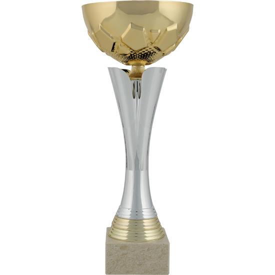 Beker C535 goud/zilver 32 cm - 140423