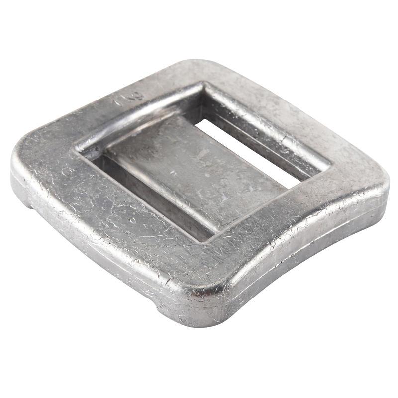Peso Plomo sin forro de buceo de 1 kg