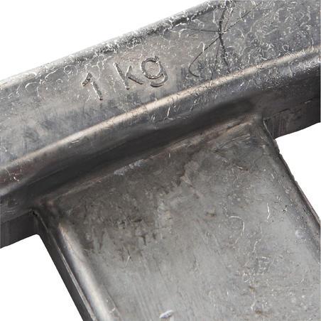 Обважнювач для дайвінгу, свинцевий без покриття, 1 кг