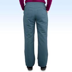 Pantalon de randonnée neige femme SH100 ultra-warm gris-bleu