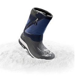 Heren wandellaarzen voor de sneeuw SH500 X-warm blauw