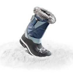 Schneestiefel Winterwandern SH500 X-Warm Damen ice