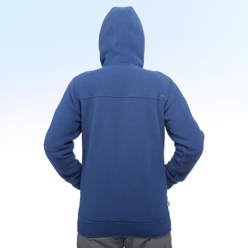 Homme De Sh100 Polaire Bleue Neige Quechua Veste Warm Randonnée Ultra I4w5x