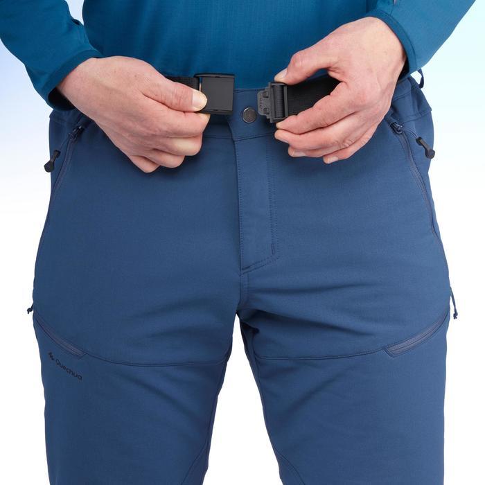 Pantalón Invierno de Montaña Quechua SH500 Warm Hombre Azul.