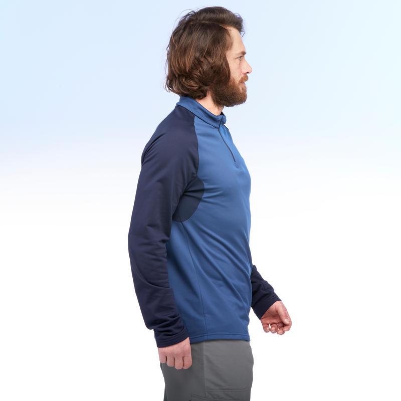 Men's T shirt SH100 (Full Sleeve) WARM - Blue