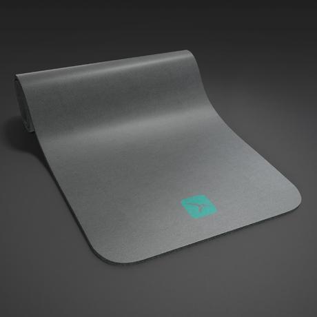 tapis de sol confort pilates gris domyos by decathlon. Black Bedroom Furniture Sets. Home Design Ideas