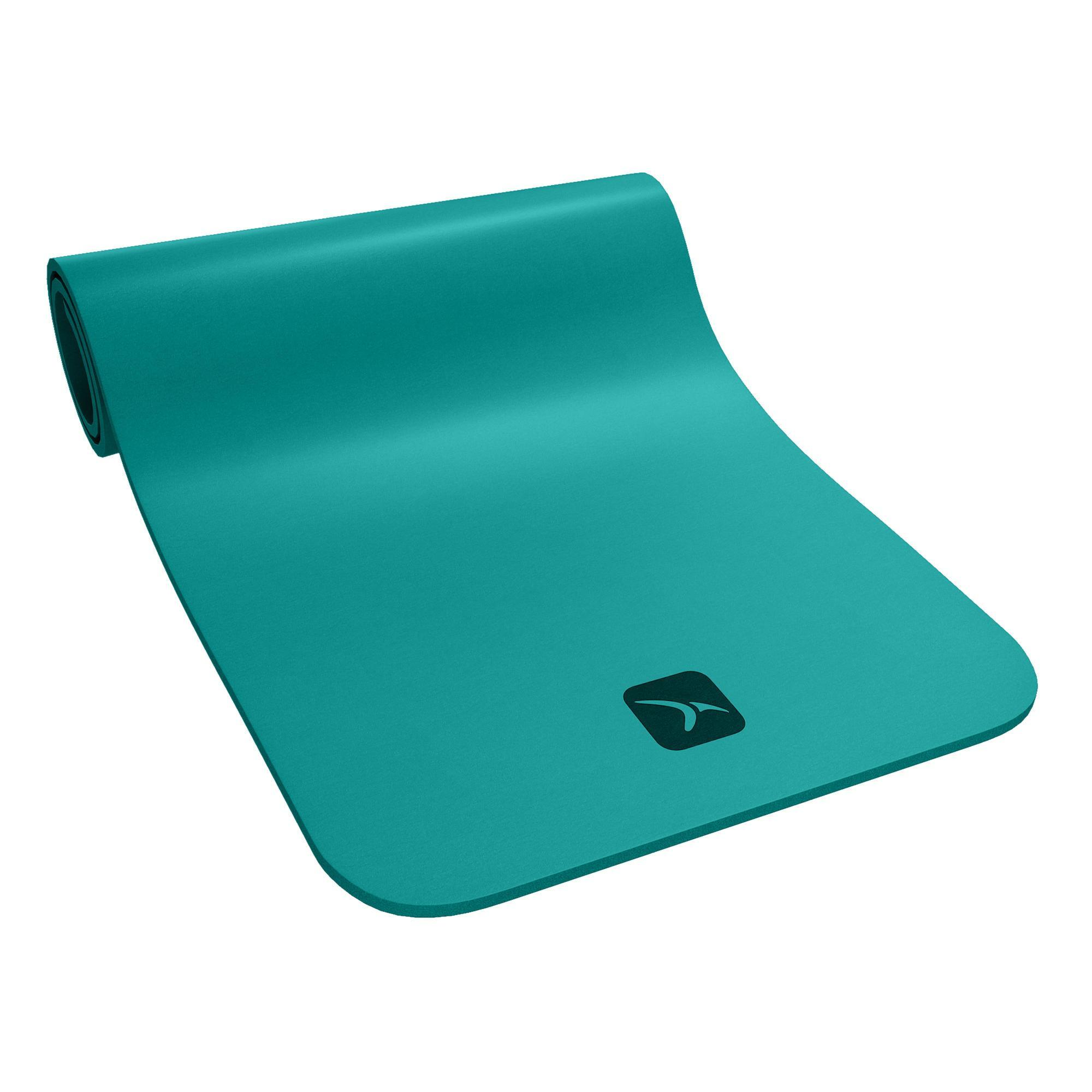 tapis de sol confort pilates vert domyos by decathlon. Black Bedroom Furniture Sets. Home Design Ideas