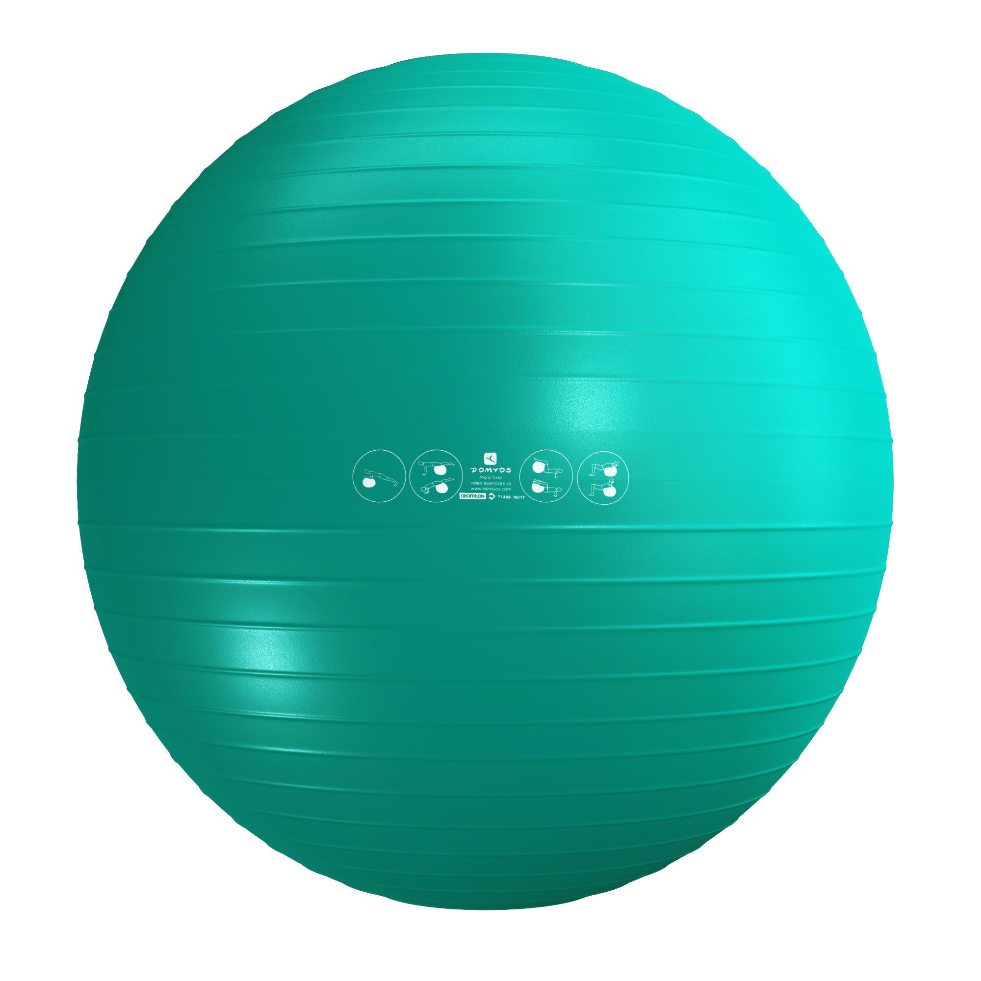 Domyos Gymbal zitbal voor fitness en pilates 55 cm
