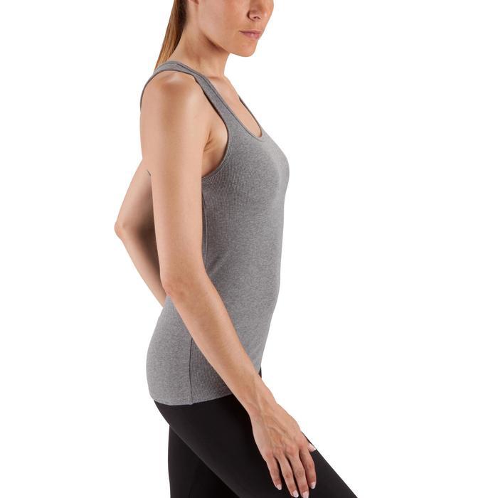 Top 500 Pilates sanfte Gymnastik Damen grau meliert