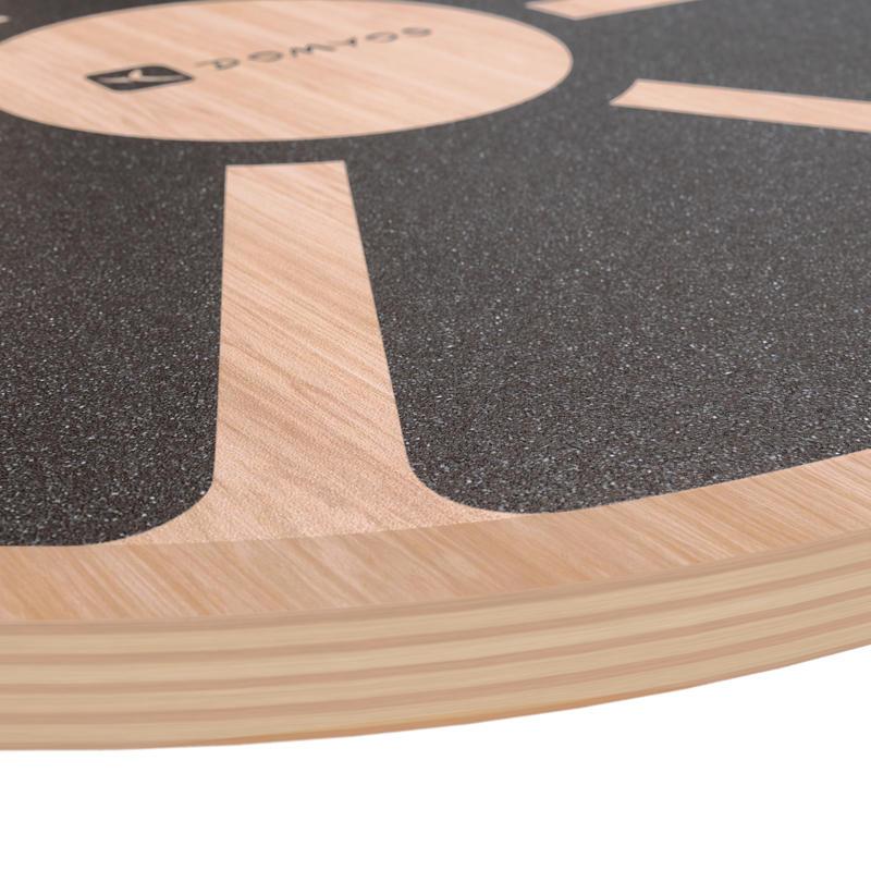 กระดานไม้สำหรับการทรงตัว เส้นผ่านศูนย์กลาง 39.5 ซม / สูง 7.5 ซม.