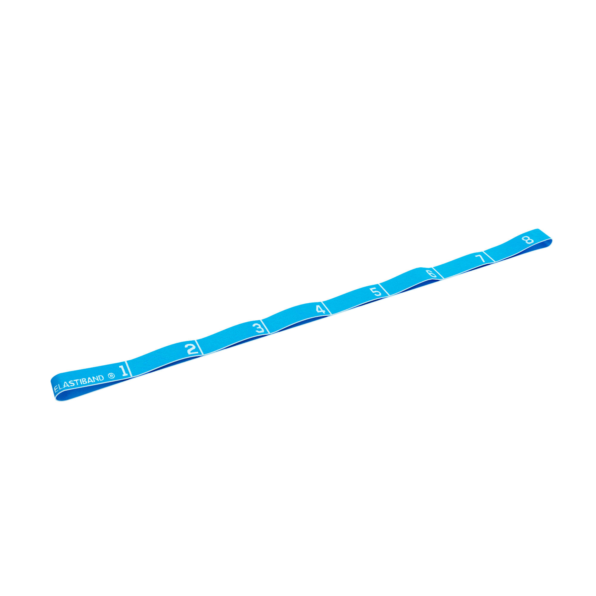 500 Pilates Stretching Fabric Elastic Band with Handles Medium Resistance
