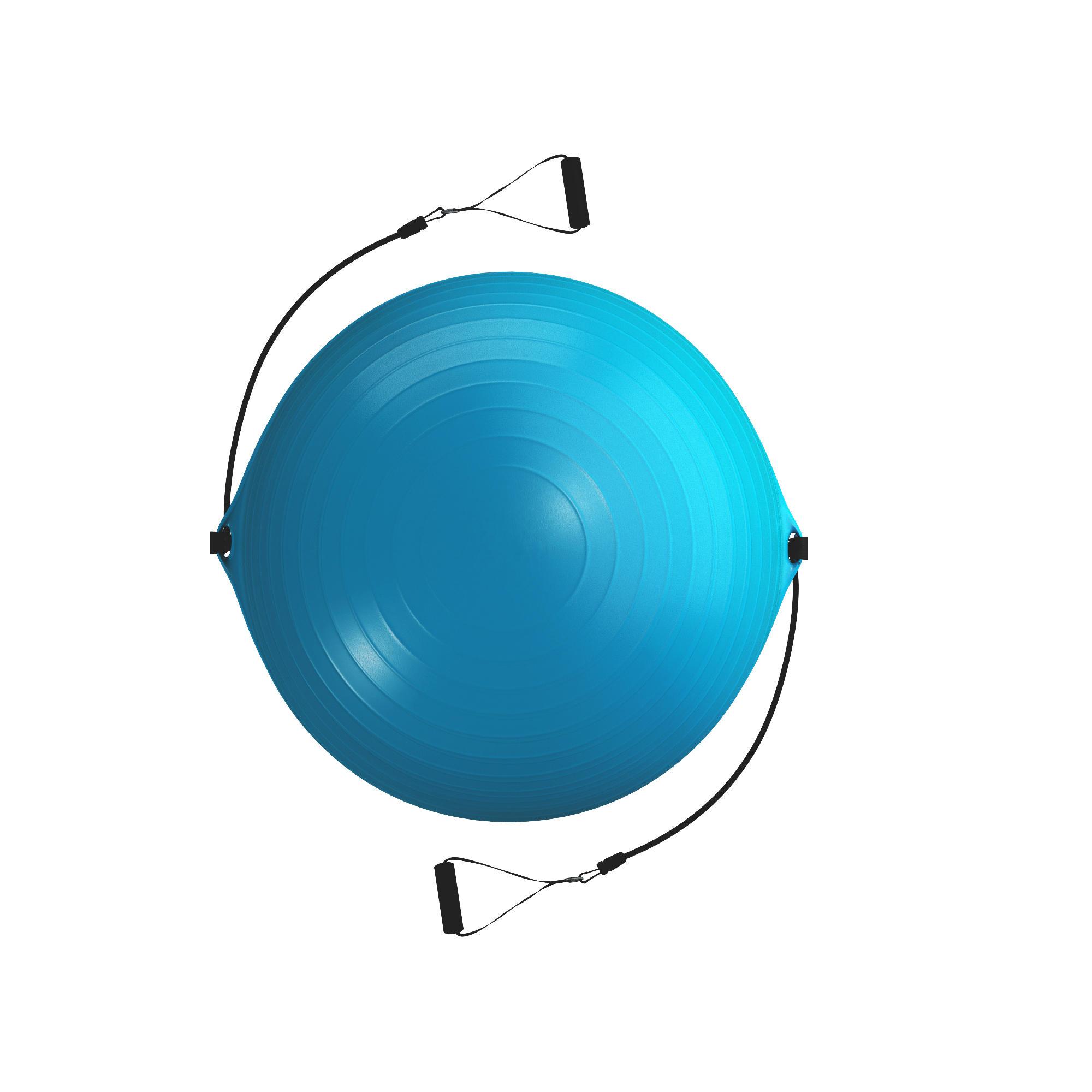 120 Medium Pilates Ball + Elastics