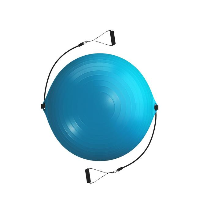 SWISS BALL 120 PILATES MEDIUM + ELASTIQUES - 1411146