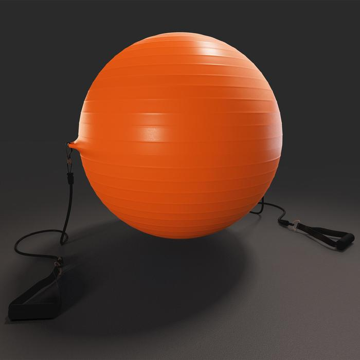 SWISS BALL 120 PILATES LARGE + ELASTIQUES - 1411150