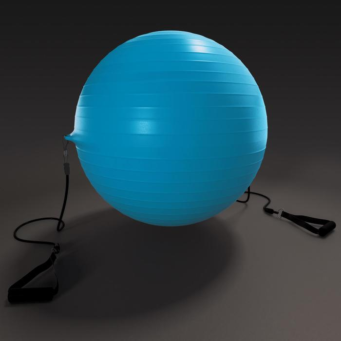 SWISS BALL 120 PILATES MEDIUM + ELASTIQUES - 1411151