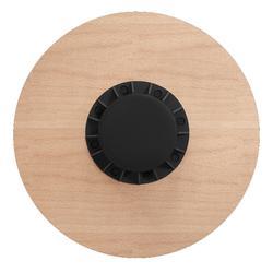 Houten balance board diameter 39,5 cm hoogte 7,5 cm