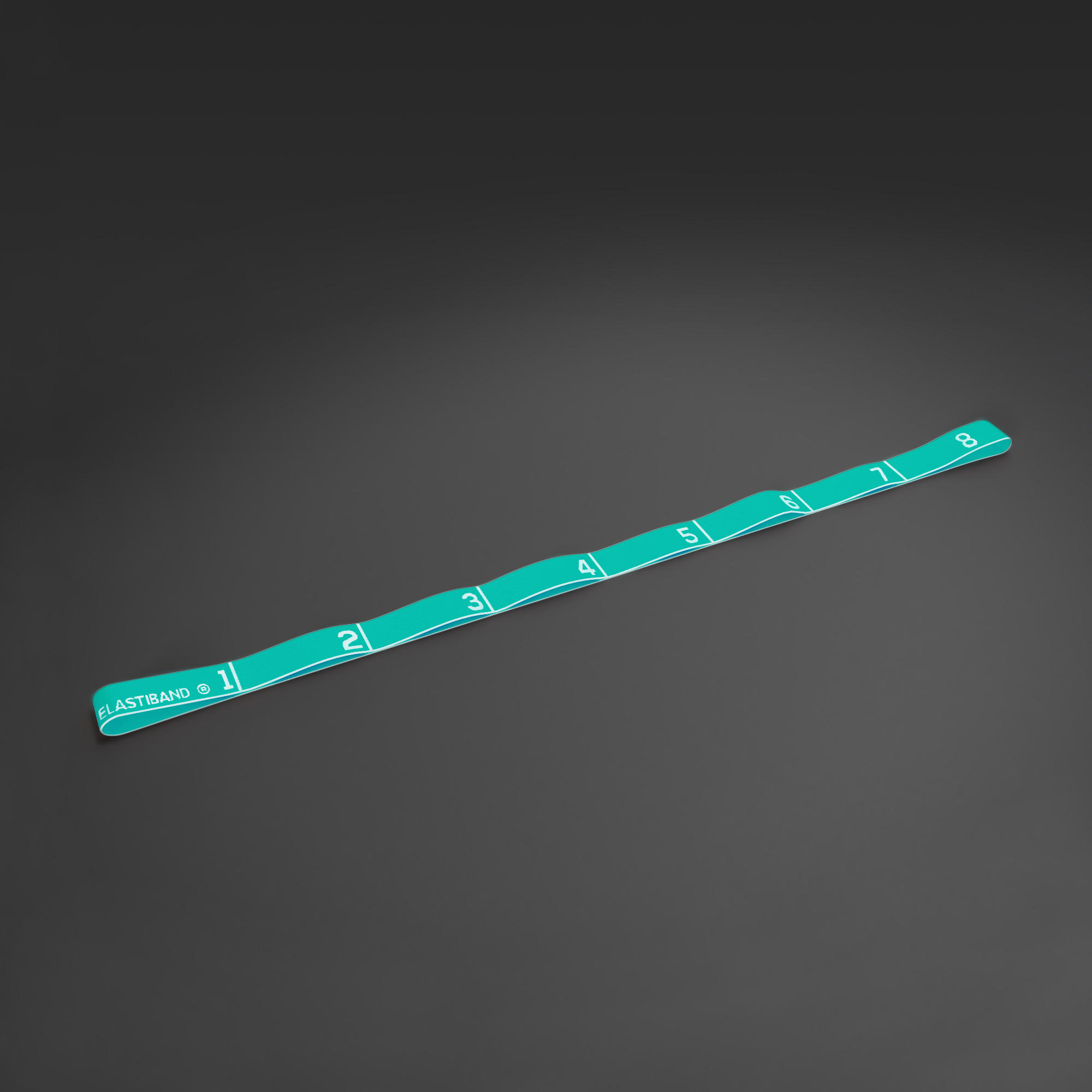 500 Pilates Stretching Fabric Elastic Band with Handles Light Resistance