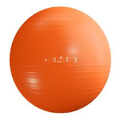 Fitball Swiss Ball Gimnasia Pilates Domyos Large Antirreventón Naranja
