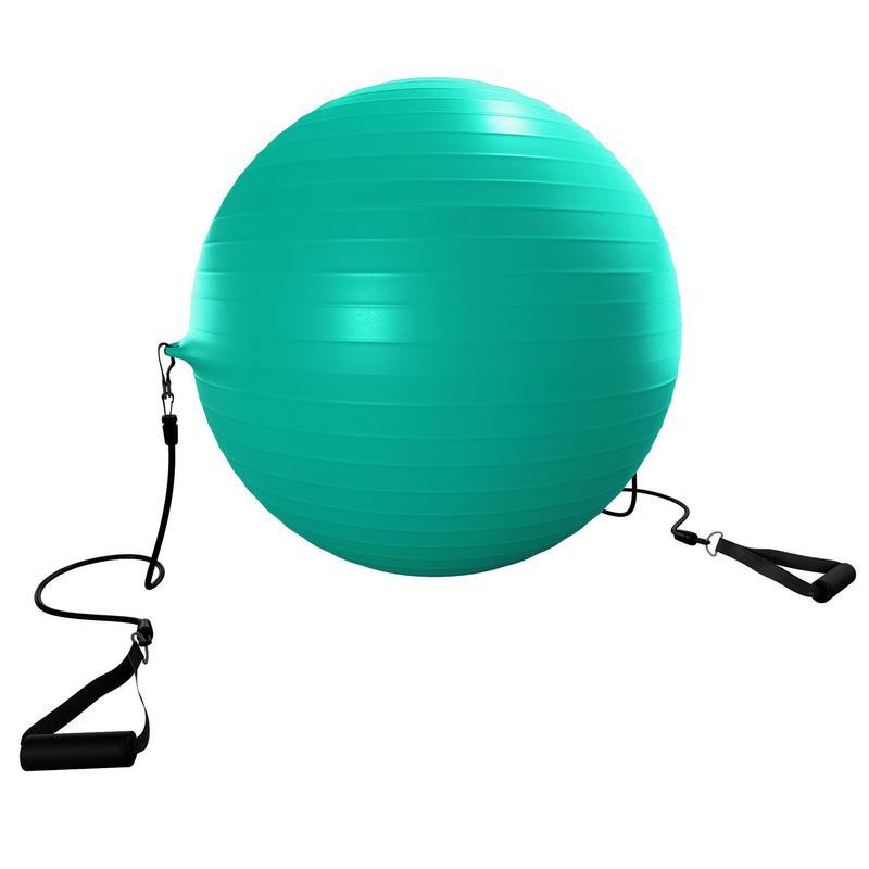 Gymnastický míč 120 vel. S + gumové posilovače  1e8168146c07