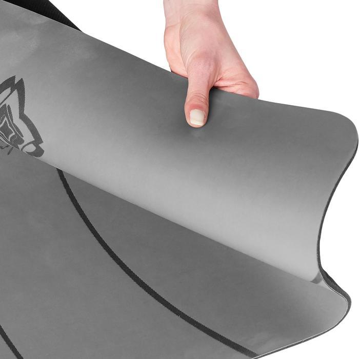 Yogamat voor dynamische yoga Studio 5 mm grijs