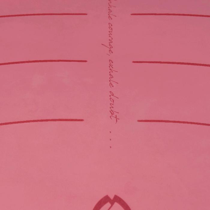 Yogamat Studio dynamische yoga 5 mm roze