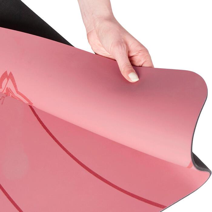 Yogamat voor dynamische yoga Studio 5 mm roze