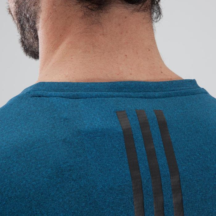 T-shirt cardiofitness heren Freelift blauw