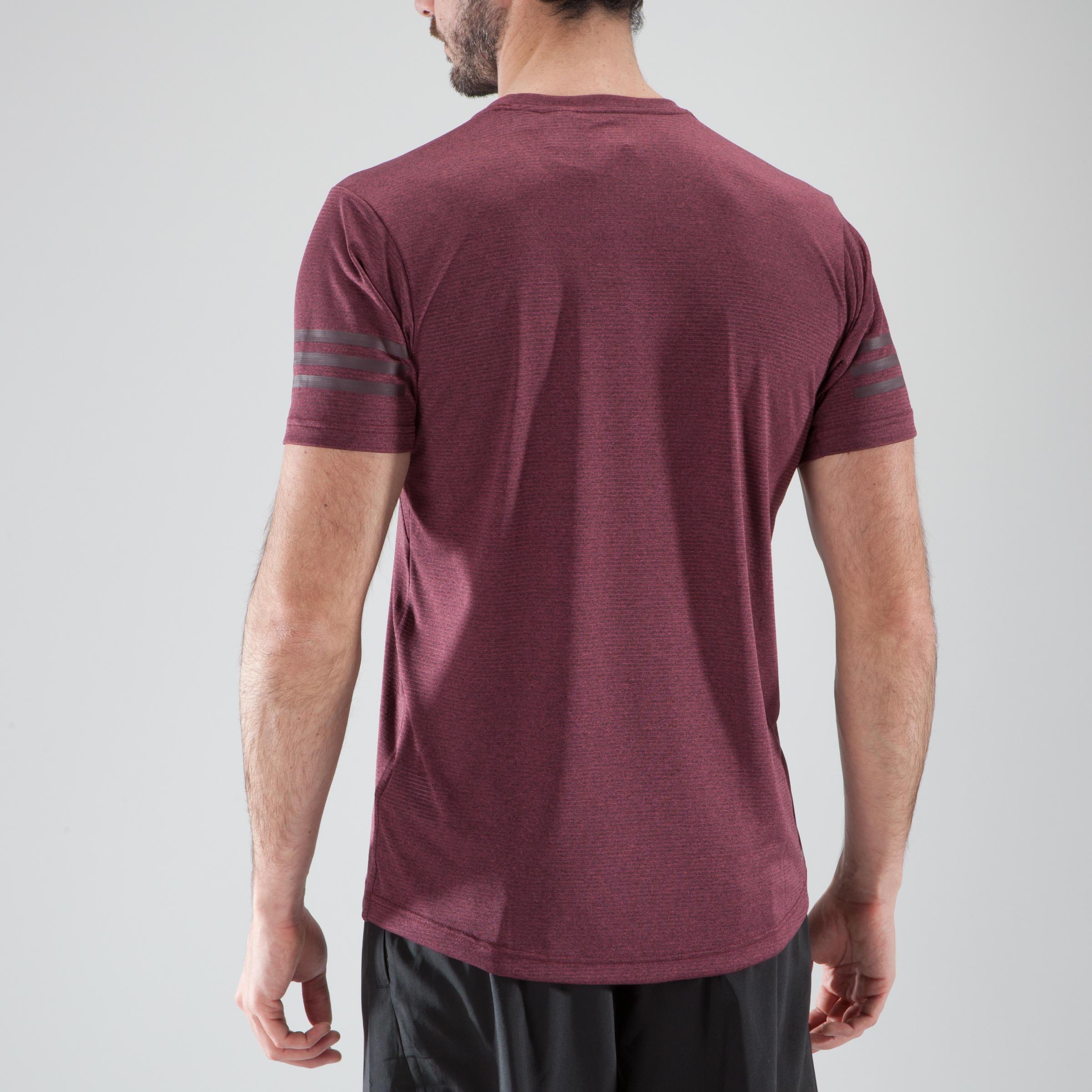 Homme Cardio Fitness Adidas Training Shirt T Bordeaux Mqsuzvp nOPN0kwX8