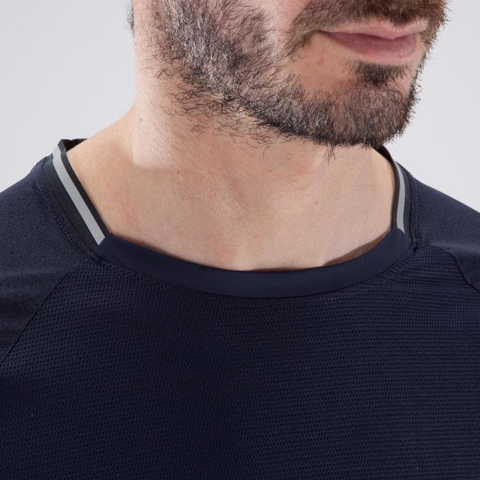 T-shirt fitness cardio homme FTS 920 BLEU FONCE