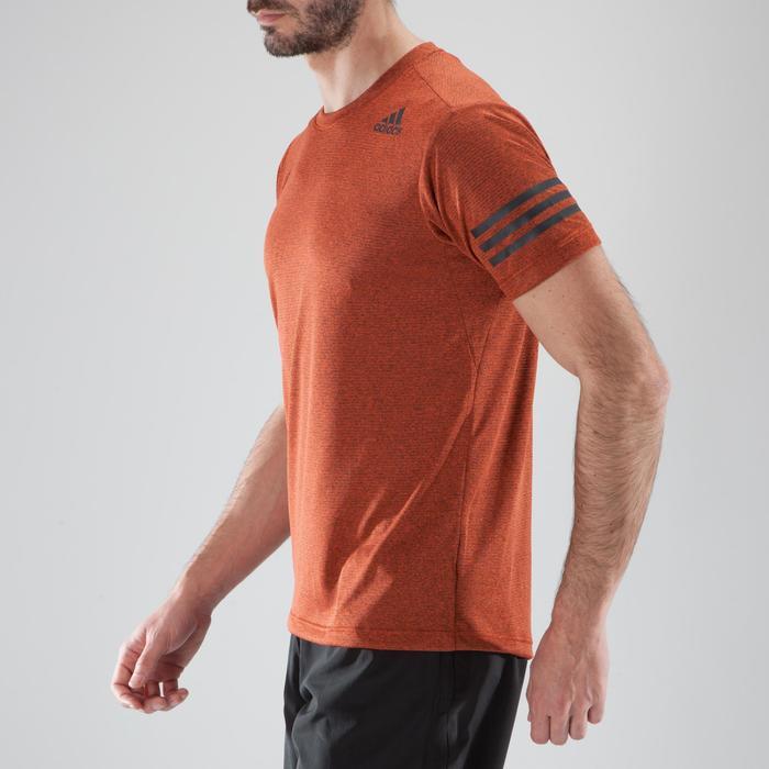 T-shirt fitness cardio-training homme FREE LIFT orange - 1411339